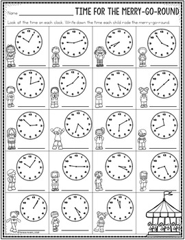 3rd Grade Math Activity Pages and Worksheets for the ...