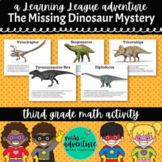 3rd Grade Math Adventure- The Missing Dinosaur Mystery