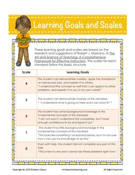 3rd Grade Math Assessment (3.NBT.1-3) with Learning Goals and Scales - FREE!