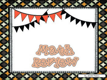 3rd Grade Math Assessment Review