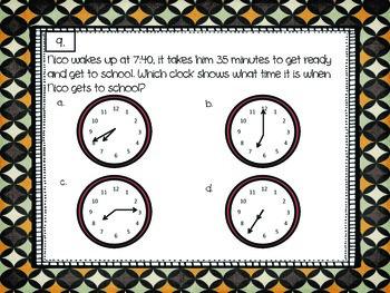 3rd Grade Math Assessment Review