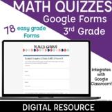 3rd Grade Math Assessments Google Forms Quiz | Quick Check