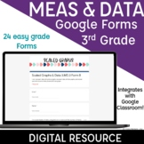 3rd Grade Math Assessments Measurement & Data Google Forms