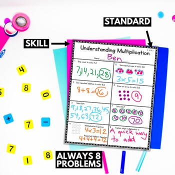 3rd Grade Math Worksheets - Third Grade Math Common Core Assessments