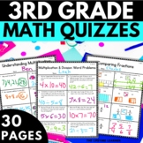 3rd Grade Math Assessments - Third Grade Math Common Core Tests