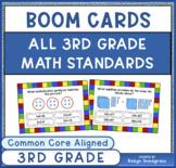 3rd Grade Math BOOM Cards BUNDLE   Digital Learning