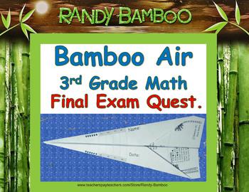 Math Test Prep - Bamboo Air - 3rd Grade