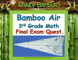 Math Test Prep - Bamboo Air - 3rd Grade