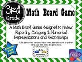 3rd Grade Math Board Game- Math Speedway