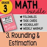 Doodle Notes - 3rd Grade Math Doodles Bundle 3. Rounding a