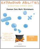 Grade 3 Math Bundle- Fractions,Geometry,Algebra,M&D,Base 10- Speech & Language