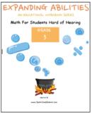 Grade 3 Math Bundle CCS-Fraction,Geometry,Algebra,M&D,Base10 for Hard of Hearing