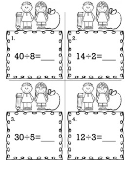 3rd Grade Math Bundle  - Scoot Game/Task Cards