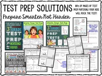 3rd Grade Math Bundle: Third Grade Morning Work, Centers & More FULL YEAR