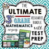 3rd Grade Math Bundle with Test Prep