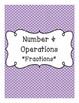 3rd Grade Math CCSS Binder Covers