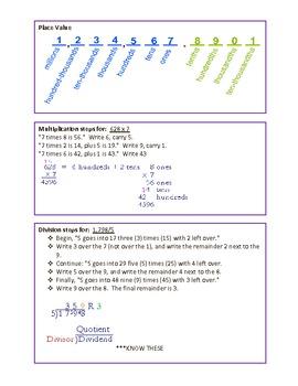 3rd Grade Math CRCT Study Guide