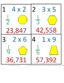 3rd Grade Math Calendar - 4 Month Package - August through