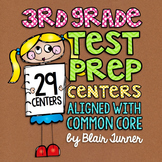 3rd Grade Math Center BUNDLE {ALL Standards!}