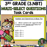 FSA Practice: Numbers + Operations in Base 10 Task Cards,