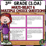 FSA Practice: Operations and Algebraic Thinking Task Cards