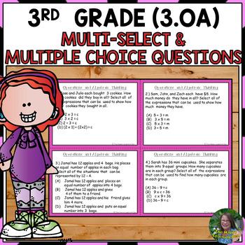 FSA 3rd Grade Practice Operations and Algebraic Thinking T