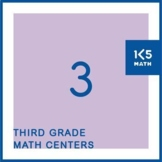 3rd Grade Math Centers for the Entire School Year