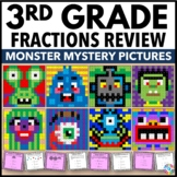 3rd Grade Math Centers: 3rd Grade Fraction Activities (Color by Number)