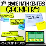 3rd Grade Math Centers {Geometry}