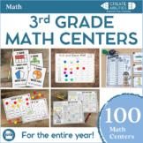 3rd Grade Math Centers MEGA Bundle