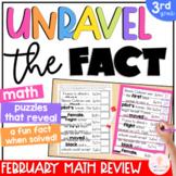 3rd Grade Math Games   Math Puzzles   Spiral Math Review   Math Centers   Feb.