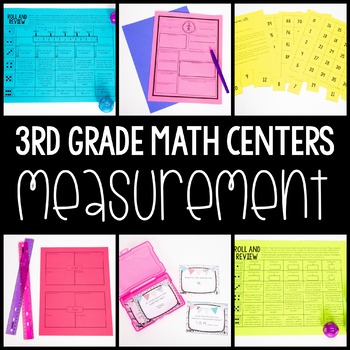 3rd Grade Math Centers - Measurement
