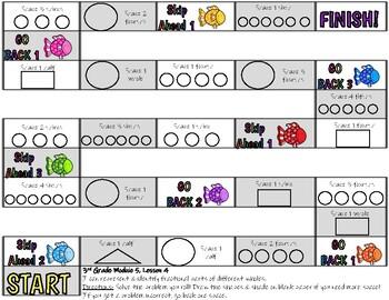3rd Grade Math Centers Module 5 Eureka Math BUNDLE