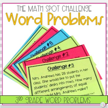 3rd Grade Math Challenge Tasks: Word Problems