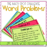 3rd Grade Math Challenge Tasks: Word Problems