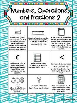 3rd Grade Math Choice Boards CCSS: Numbers and Operations in Base Ten
