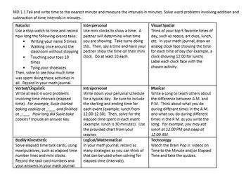 3rd Grade Math Choice Boards by Standard (editable)