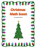 3rd Grade Math Christmas Scoot