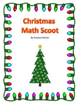 3rd Grade Math Christmas Scoot