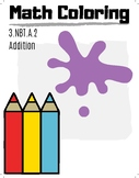 3rd Grade Math Coloring Pictures, Addition