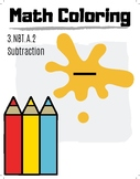 3rd Grade Math Coloring Pictures, Subtraction
