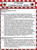 3rd Grade Math Common Core Checklists - Lesson Planning Form - Cute Ladybug New