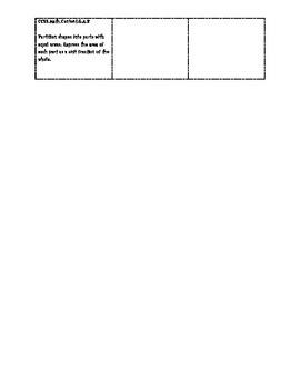 3rd Grade Math Common Core Labels