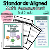 3rd Grade Math Common Core Learning Standards Test