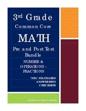 3rd Grade Math Common Core Number and Operations - Fractio