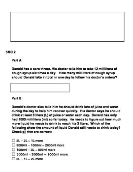 3rd Grade Math Common Core MD Standards Test Prep (AIR, PARCC, Smarter Balance)