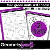 Third Grade Math | Geometry Bundle