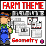 Geometry Activities Bundle for 3rd and 4th Grade