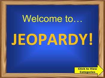 3rd Grade Math Common Core Review Jeopardy PowerPoint Game (Version 2)