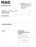 Multiplication and Division Strategy Sheet